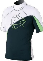2011 Arrow Rashvest S/S White/Green XL