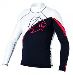 2012-2013 Arrow Rash Vest L/S 965 Black/Red S
