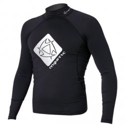 2012 Star Rash Vest Men L/S 900 Black S