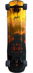 Скейт Moonshine Hooch Burnout / Arsenal 180 Black 50 / 70mm Slip Complete
