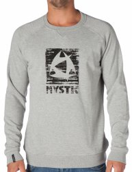 Толстовка Mystic 2014 Decay Sweat Grey Melee