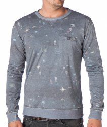 Толстовка Mystic 2015 Worldwide Sweat 807 Dark Grey