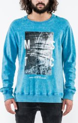 Толстовка Mystic 2016 Cape Fear Sweat Cloud Blue
