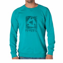 Толстовка Mystic 2014 Decay Sweat Ocean Green Melee