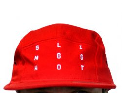 Slingshot 2014 Red 5-Panel Grid Hat