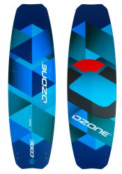 Кайтовая доска Ozone CODE Freeride Kite Board Light Blue