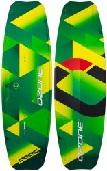 Кайтовая доска Ozone CODE V2 Performance Freeride Kite Board Lime