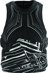 Force Wakeboard Vest D3O Black/White M