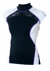 Maui Magic Hana Rash Vest EXTRA S/S  Purple M