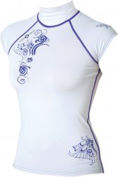 Maui Magic Luna Rash Vest EXTRA S/S  Purple XL