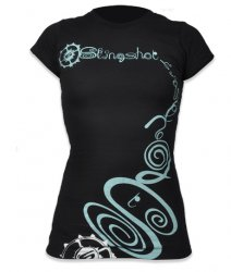2011 Womens Spriral Tshirt Sz Medium