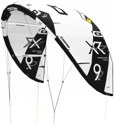 Кайт CORE XR5 10.0 white/black incl. Kitebag and Repair Kit Pro