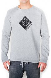 Толстовка Mystic Sweat 2013 Erosion Sweat 832 Grey Melee