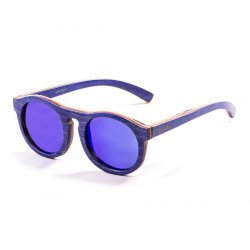 Очки FIJI Frame: skate wood blue light Lens: revo blue