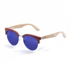 Очки MEDANO Frame: bamboo brown Arms: natural Lens: revo blue