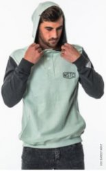 Толстовка Mystic 2017 Segment Sweat Barely Mint