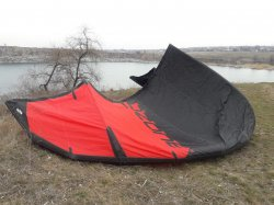 Кайт Ozone Catalyst V1 10m BlackRed