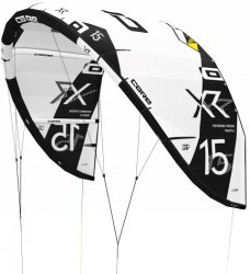 Кайт CORE XR5 15.0 LW white/black incl. Kitebag and Repair Kit Pro